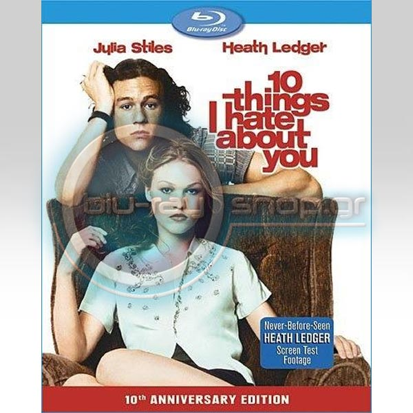 10 THINGS I HATE ABOUT YOU - 10 ΠΡΑΓΜΑΤΑ ΠΟΥ ΜΙΣΩ ΣΕ ΣΕΝΑ (BLU-RAY)