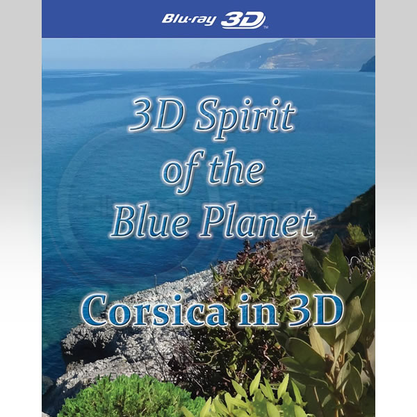 3D SPIRIT OF THE BLUE PLANET: CORSICA IN 3D (3D BLU-RAY)