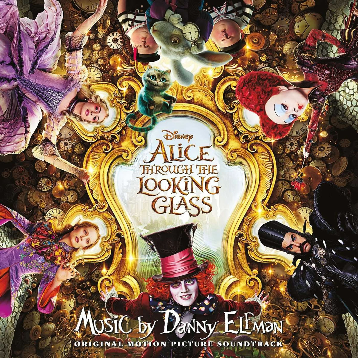 ALICE THROUGH THE LOOKING GLASS - THE ORIGINAL MOTION PICTURE SOUNDTRACK (AUDIO CD)