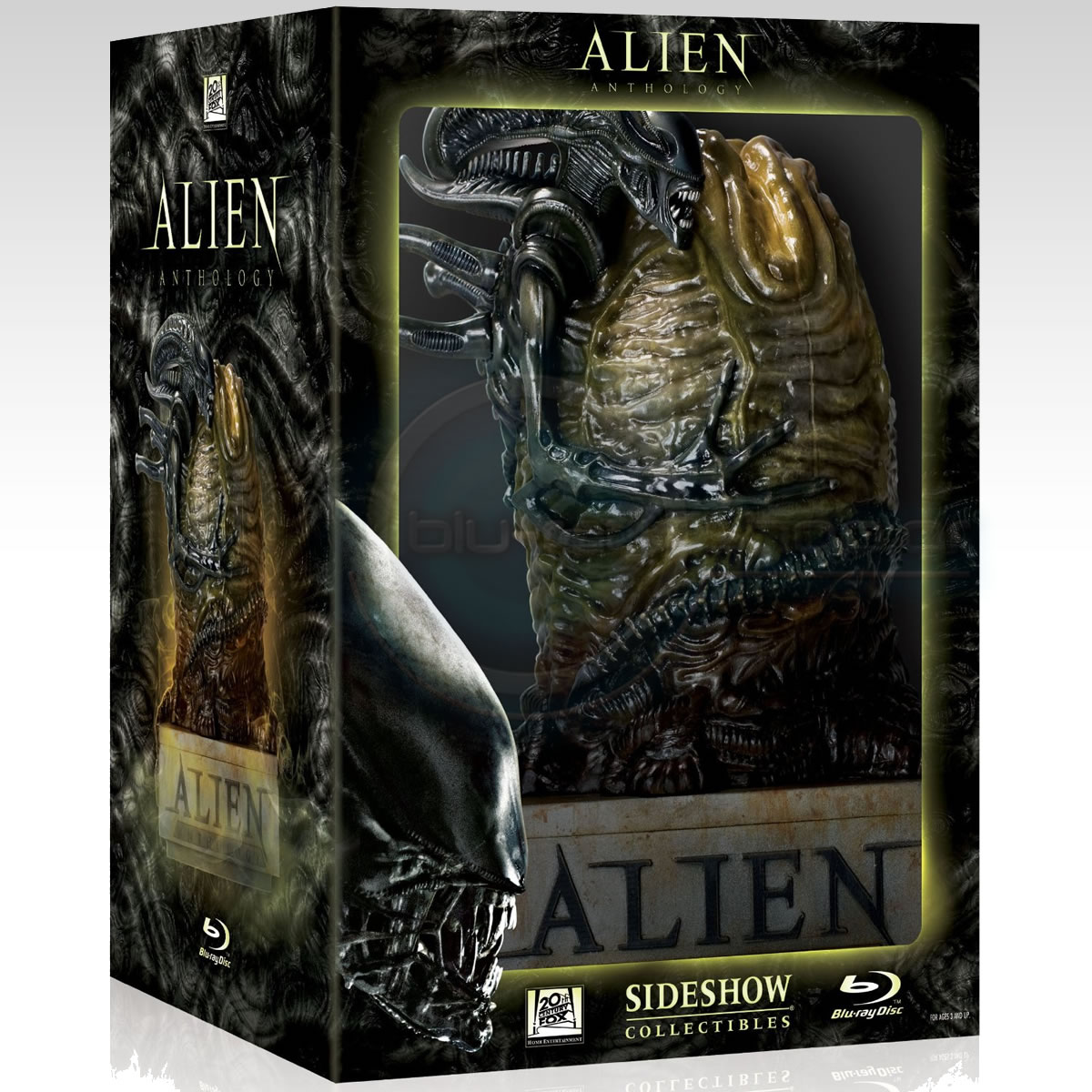 ALIEN ANTHOLOGY - LIMITED EDITION EGG ������������ [��������� �� ���������� ����������] (6 BLU-RAYs)