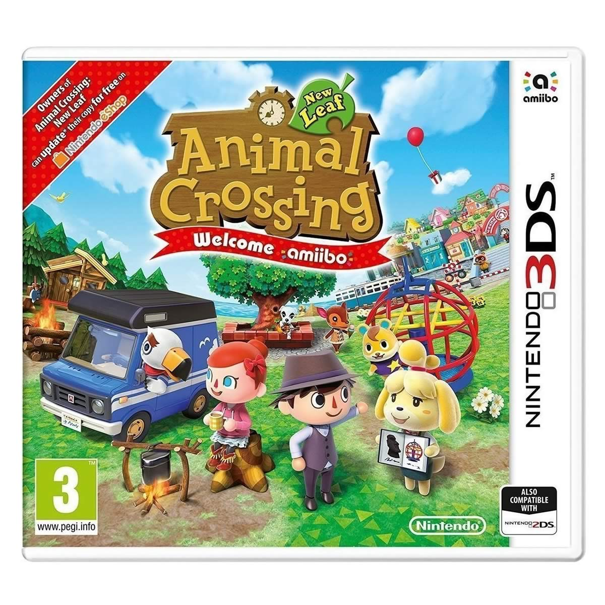 ANIMAL CROSSING NEW LEAF - Welcome amiibo (Without Card) (3DS)