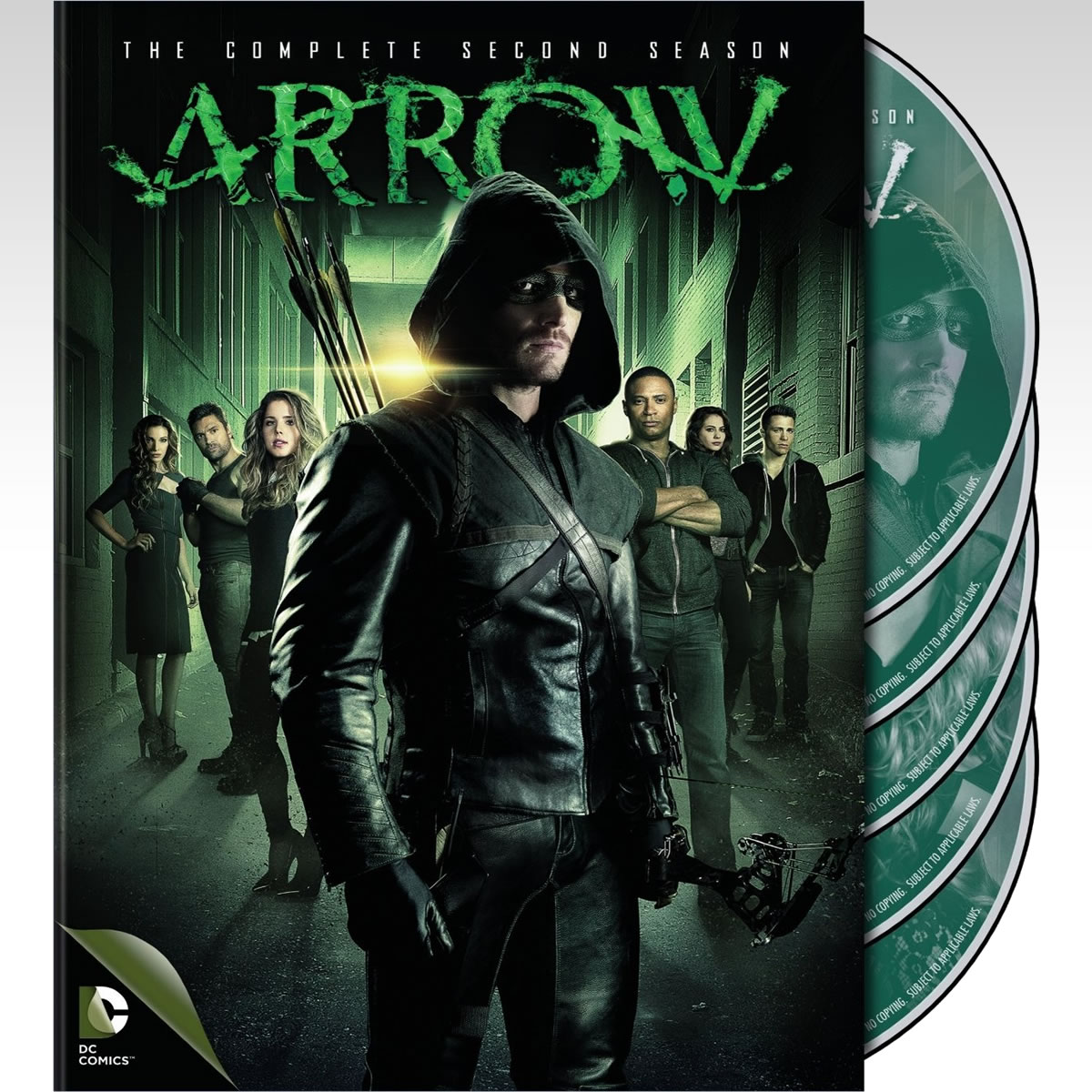 ARROW: THE COMPLETE 2st SEASON - ARROW: 2η ΠΕΡΙΟΔΟΣ (5 DVDs)