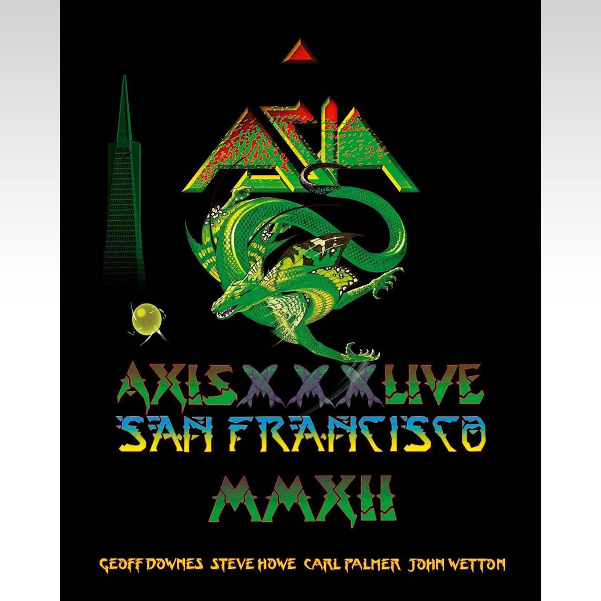 ASIA: AXIS XXX - LIVE IN SAN FRANCISCO (BLU-RAY)