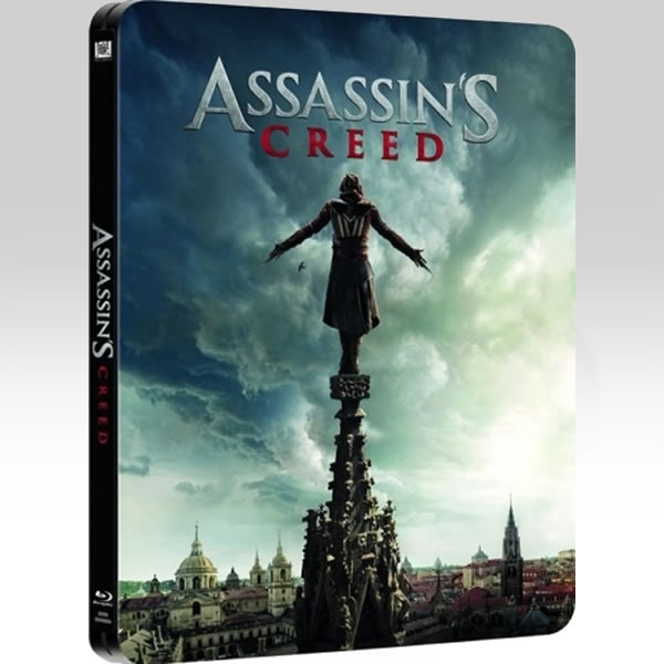 ASSASSIN'S CREED 3D - Limited Edition Steelbook (BLU-RAY 3D + BLU-RAY) + GIFT Steelbook PROTECTIVE SLEEVE