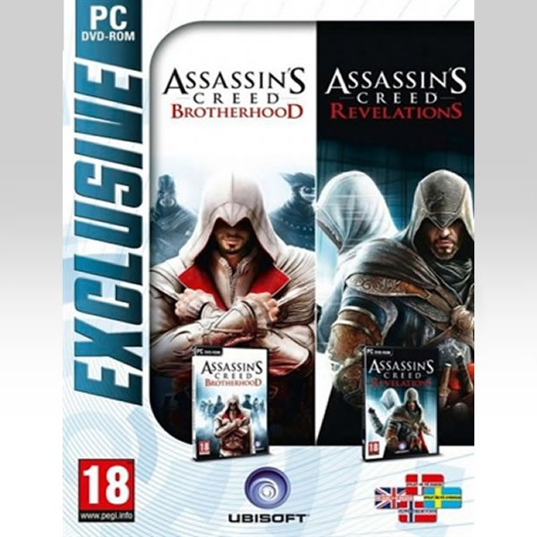 ASSASSIN'S CREED REVELATIONS & ASSASSIN'S CREED BROTHERHOOD (PC)