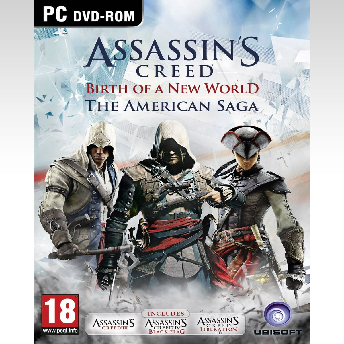 ASSASSINS CREED: BIRTH OF A NEW WORLD - THE AMERICAN SAGA COMPILATION (PC)