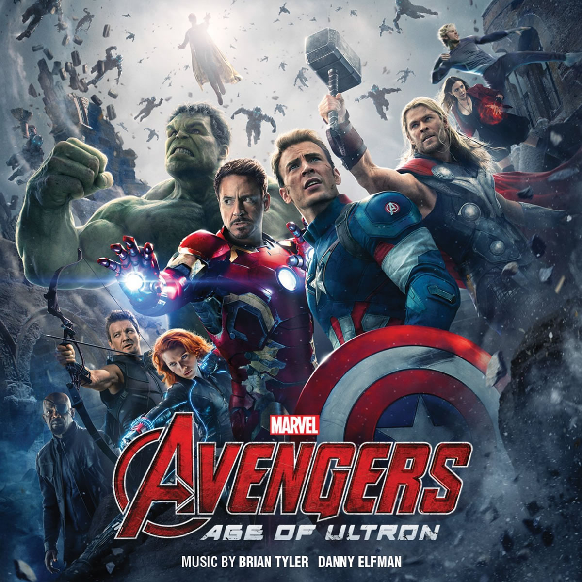 AVENGERS 2: AGE OF ULTRON - THE ORIGINAL MOTION PICTURE SOUNDTRACK (AUDIO CD)