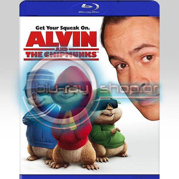 ALVIN AND THE CHIPMUNKS - � ����� ��� � ����� ��� (BLU-RAY)