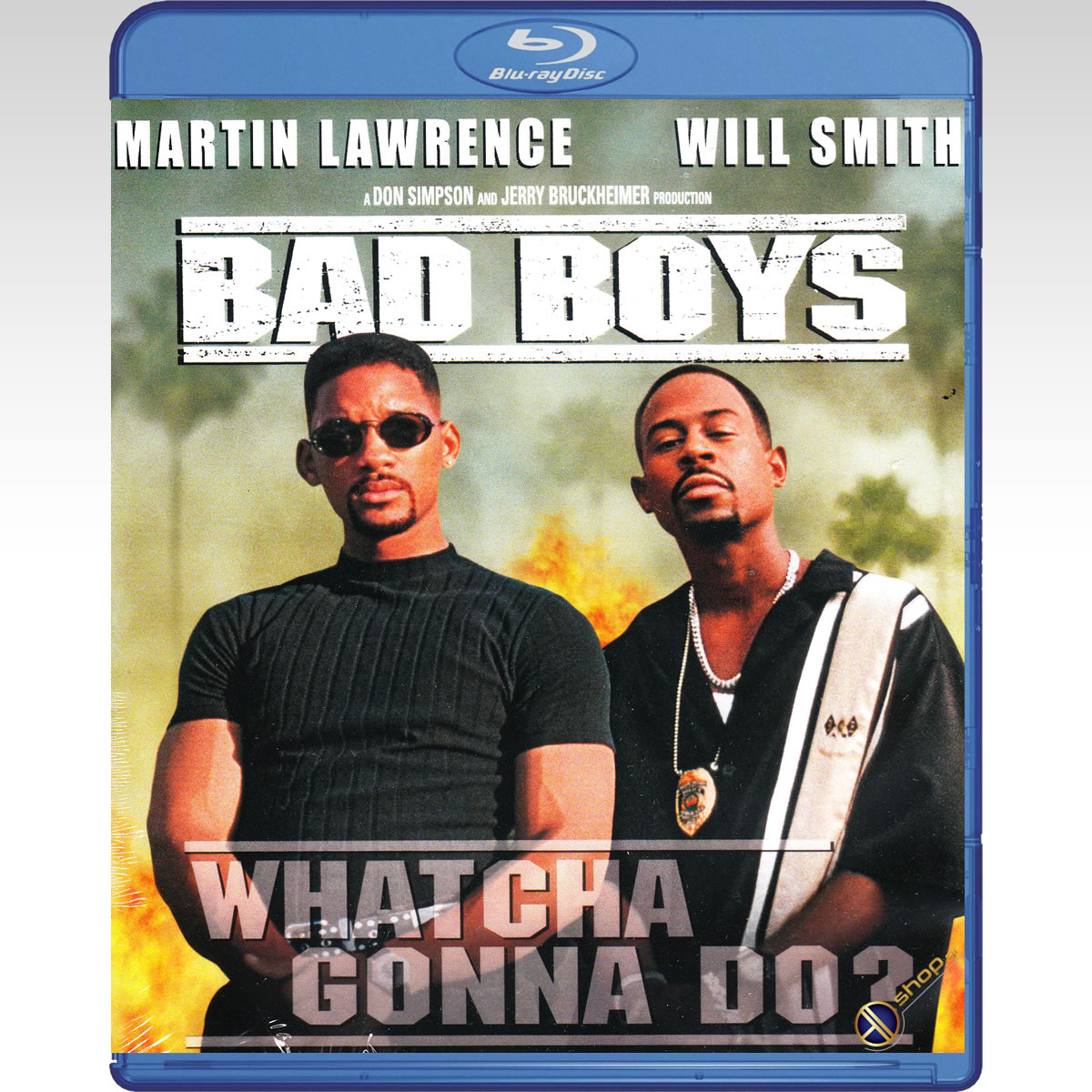 BAD BOYS - �� ���� ������ [4K ReMASTERED] 20th Anniversary Deluxe Edition (BLU-RAY)