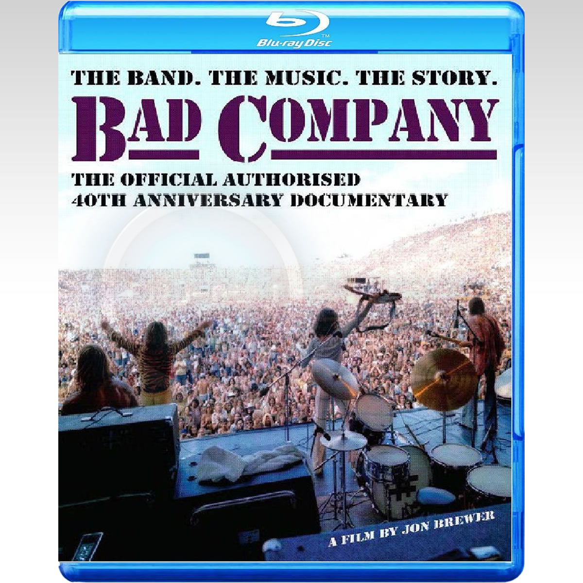 BAD COMPANY: THE OFFICIAL AUTHORISED 40th ANNIVERSARY DOCUMENTARY (BLU-RAY)