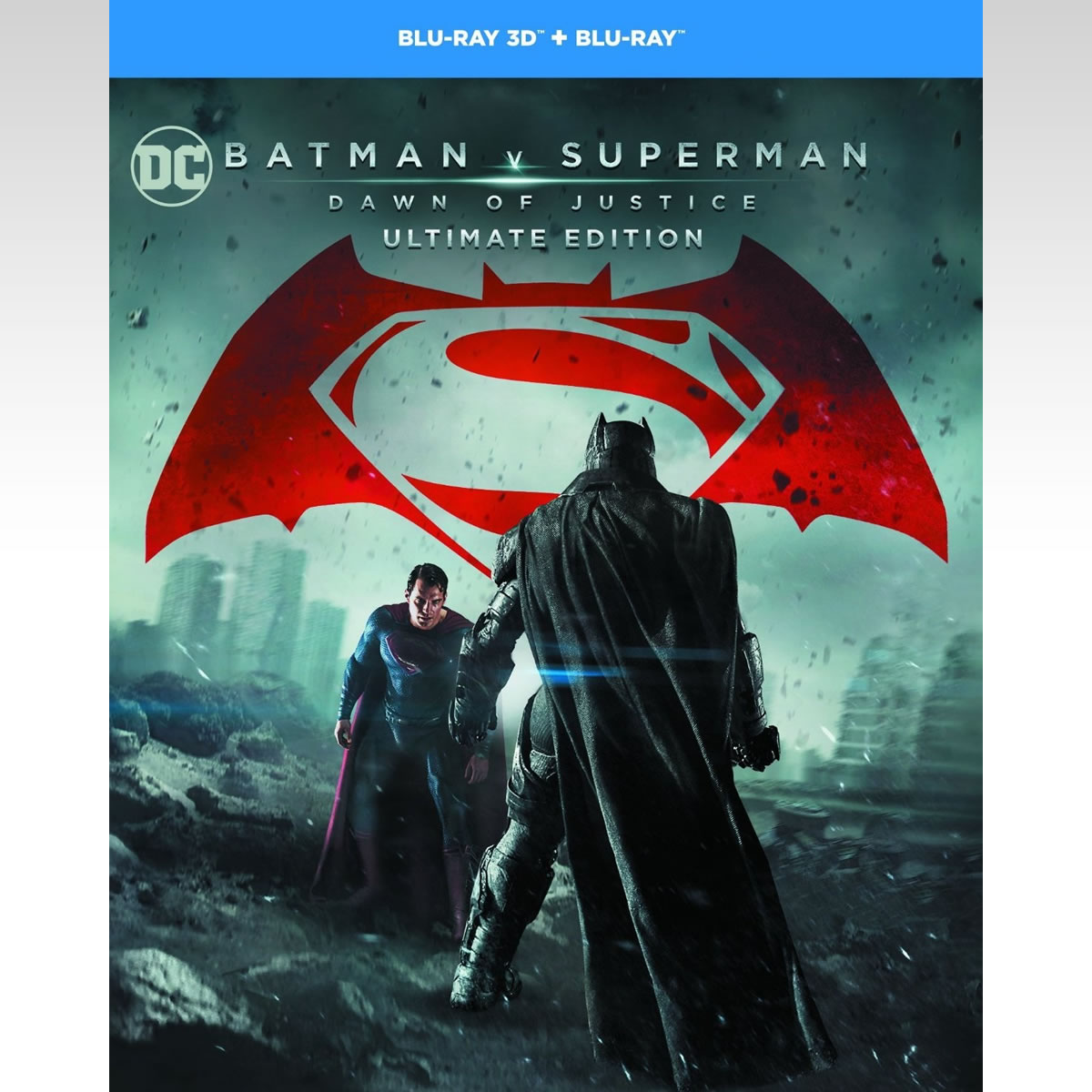 BATMAN V SUPERMAN: DAWN OF JUSTICE 3D Extended Unrated Cut ULTIMATE EDITION - BATMAN V SUPERMAN: Η ΑΥΓΗ ΤΗΣ ΔΙΚΑΙΟΣΥΝΗΣ 3D Extended Unrated Cut ULTIMATE EDITION (BLU-RAY 3D + BLU-RAY)
