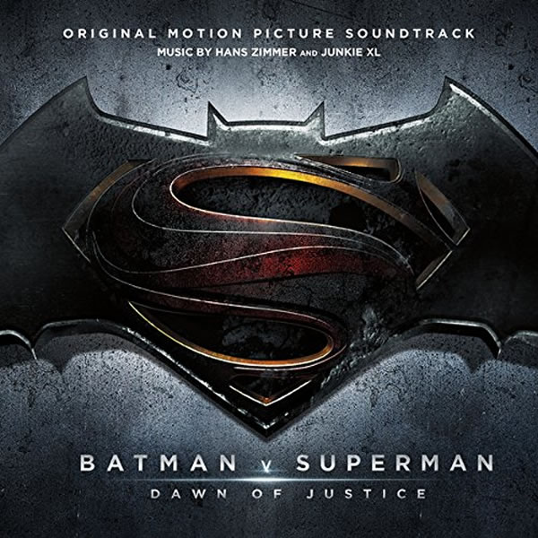 BATMAN V SUPERMAN: DAWN OF JUSTICE - THE ORIGINAL MOTION PICTURE SOUNDTRACK (AUDIO CD)