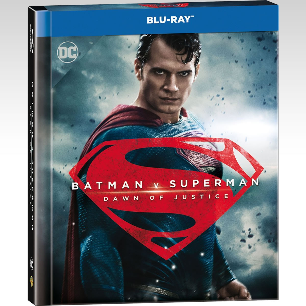 BATMAN V SUPERMAN: DAWN OF JUSTICE Extended Unrated Cut ULTIMATE EDITION Digibook - BATMAN V SUPERMAN: Η ΑΥΓΗ ΤΗΣ ΔΙΚΑΙΟΣΥΝΗΣ Extended Unrated Cut ULTIMATE EDITION Digibook [Εισαγωγής ΜΕ ΕΛΛΗΝΙΚΟΥΣ ΥΠΟΤΙΤΛΟΥΣ] (2 BLU-RAYs)