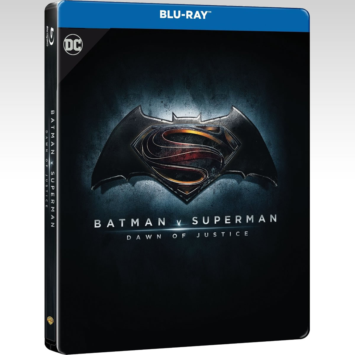 BATMAN V SUPERMAN: DAWN OF JUSTICE Extended Unrated Cut ULTIMATE EDITION Steelbook - BATMAN V SUPERMAN: Η ΑΥΓΗ ΤΗΣ ΔΙΚΑΙΟΣΥΝΗΣ Extended Unrated Cut ULTIMATE EDITION Steelbook [Εισαγωγής ΜΕ ΕΛΛΗΝΙΚΟΥΣ ΥΠΟΤΙΤΛΟΥΣ] (2 BLU-RAYs)