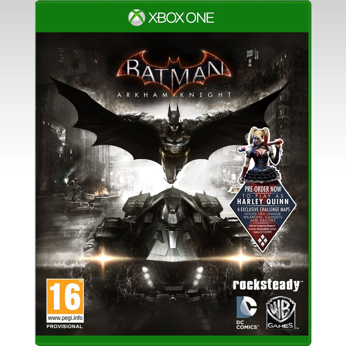 BATMAN: ARKHAM KNIGHT (XBOX ONE)