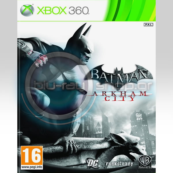 BATMAN ARKHAM CITY - CLASSICS (XBOX 360)