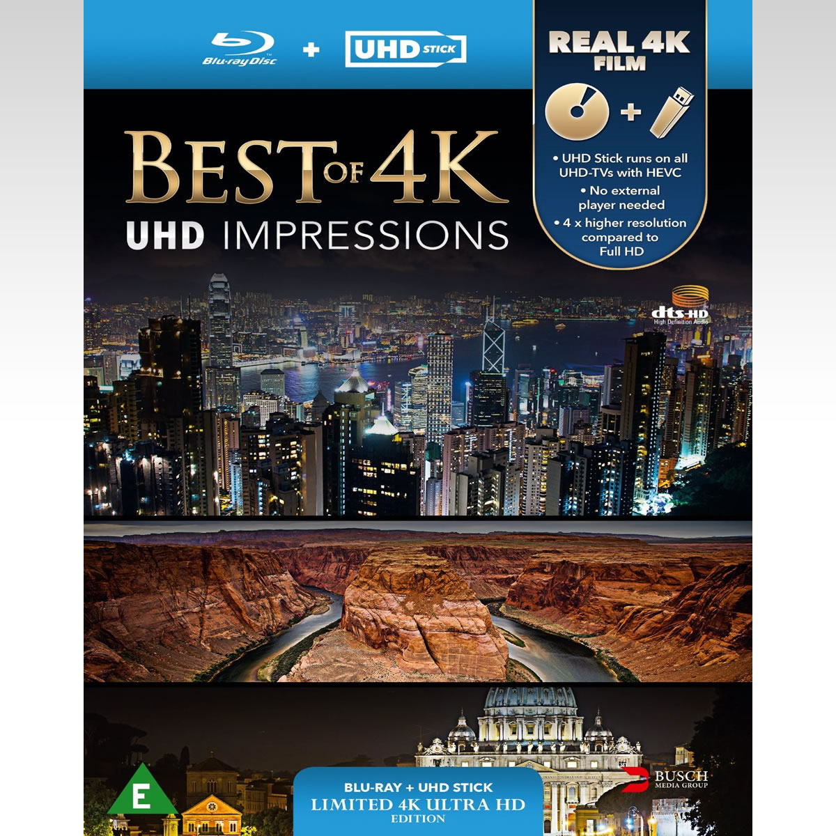 BEST OF 4K: UHD IMPRESSIONS - Limited Edition (BLU-RAY + UHD Stick)