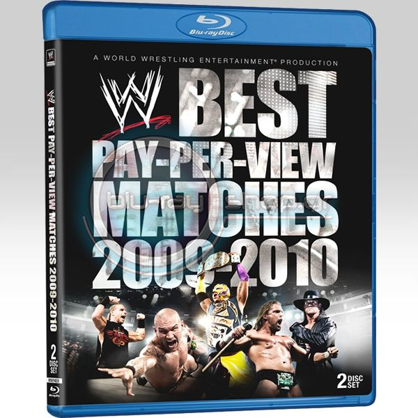 BEST PPV MATCHES OF THE YEAR (3 DVD + 2 BLU-RAY)