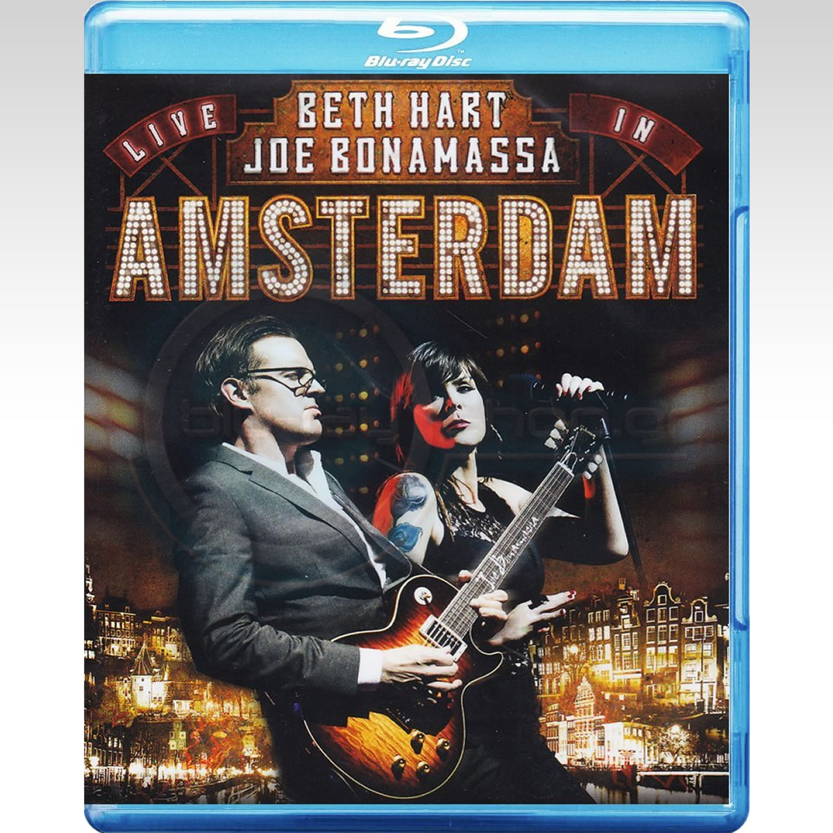 BETH HEART & JOE BONAMASSA: LIVE IN AMSTERDAM (BLU-RAY)