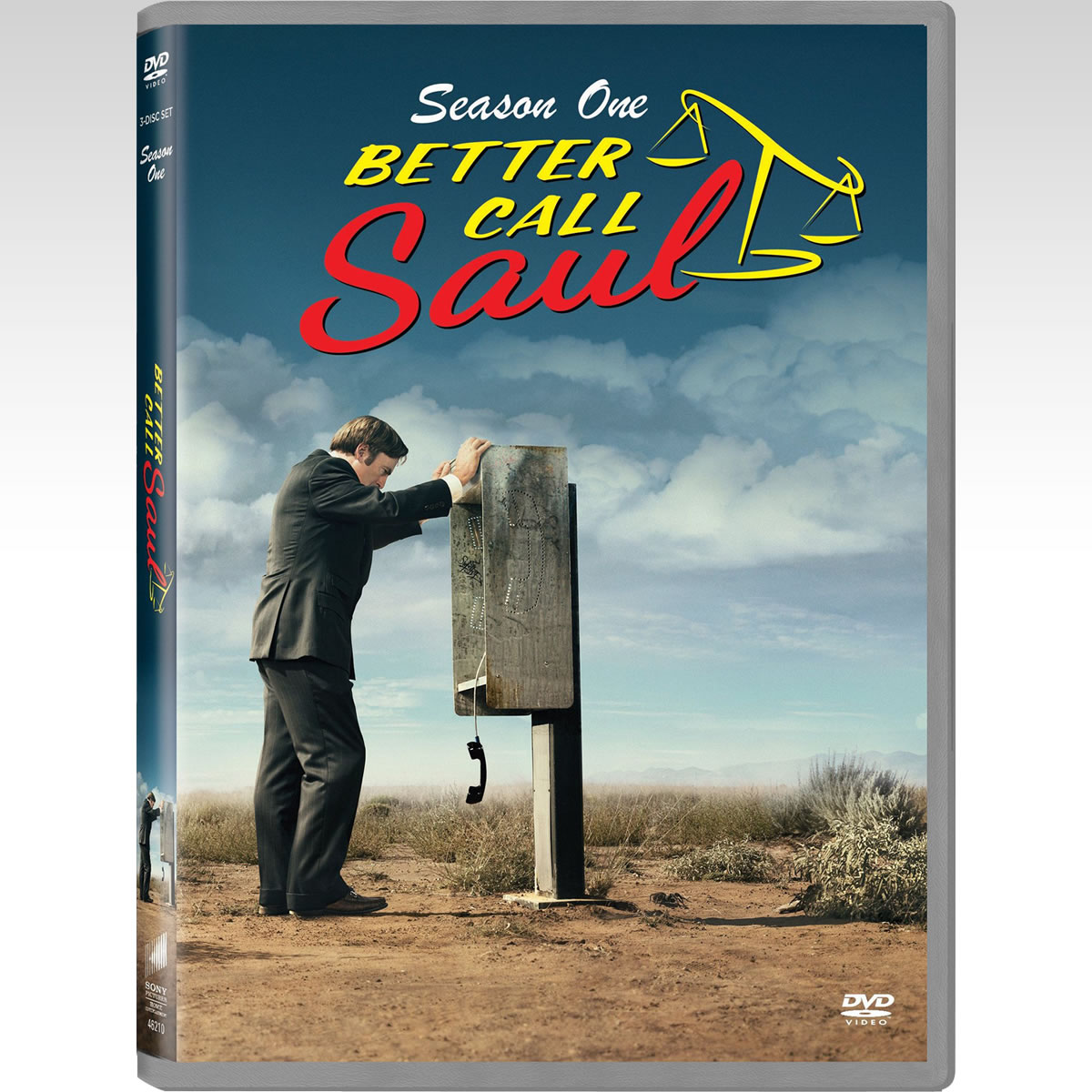 BETTER CALL SAUL SEASON 1 -  BETTER CALL SAUL 1η ΠΕΡΙΟΔΟΣ (3 DVDs)