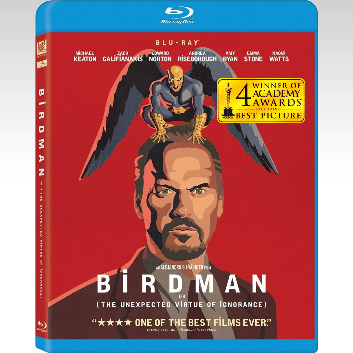BIRDMAN: OR (THE UNEXPECTED VIRTUE OF IGNORANCE) - BIRDMAN: ή (Η ΑΠΡΟΣΜΕΝΗ ΑΡΕΤΗ ΤΗΣ ΑΦΕΛΕΙΑΣ) (BLU-RAY)