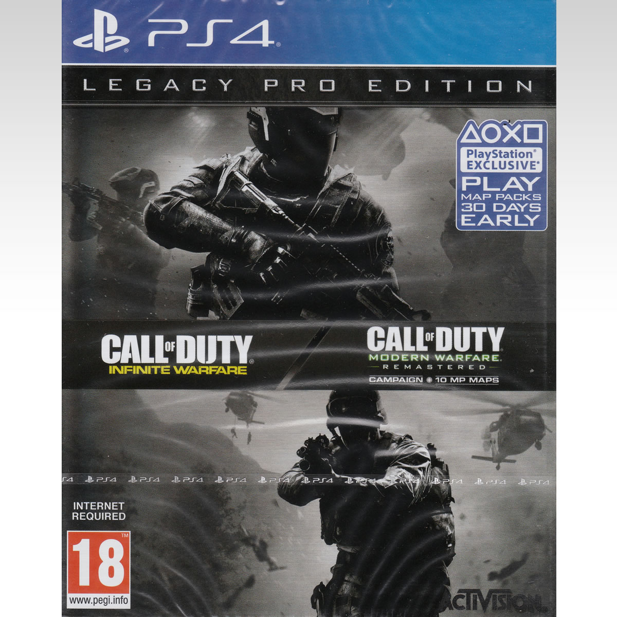 CALL OF DUTY: INFINITE WARFARE - LEGACY PRO STEELBOOK EDITION (PS4)