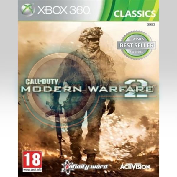 CALL OF DUTY - MODERN WARFARE 2 - CLASSICS (XBOX 360)
