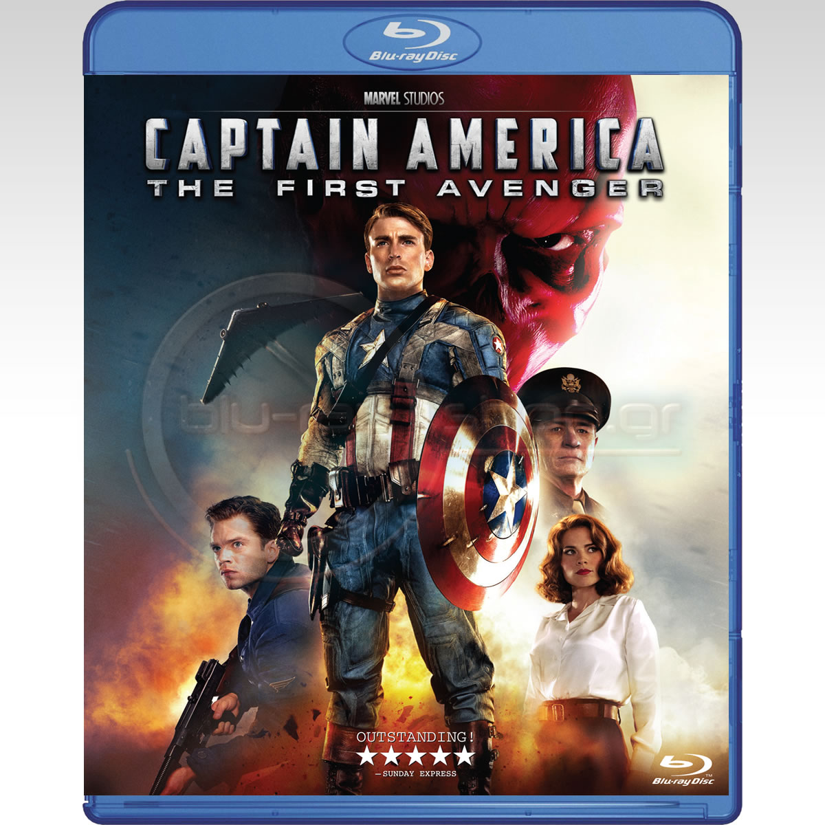 CAPTAIN AMERICA: THE FIRST AVENGER - CAPTAIN AMERICA: Ο ΠΡΩΤΟΣ ΕΚΔΙΚΗΤΗΣ (BLU-RAY)