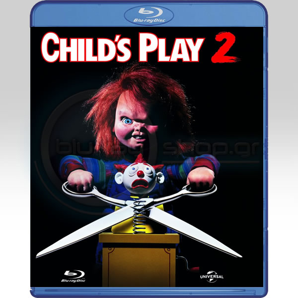 CHILD'S PLAY 2 - Η ΚΟΥΚΛΑ ΤΟΥ ΣΑΤΑΝΑ 2 (BLU-RAY)