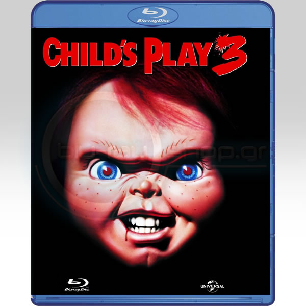 CHILD'S PLAY 3 - Η ΚΟΥΚΛΑ ΤΟΥ ΣΑΤΑΝΑ 3 (BLU-RAY)