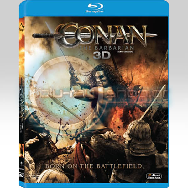 KONAN O BA������ [2011] - CONAN THE BARBARIAN [2011] (BLU-RAY 3D/2D)