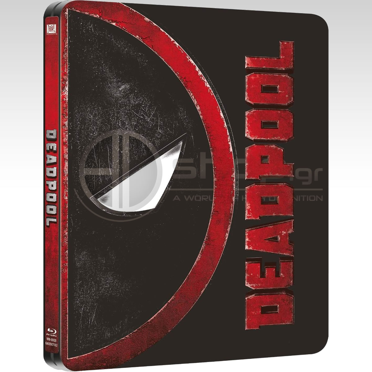 DEADPOOL - Limited Edition Steelbook (BLU-RAY)