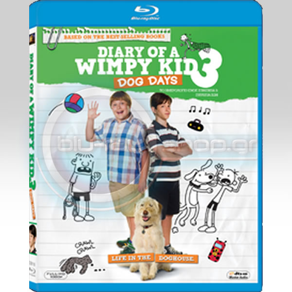 DIARY OF A WIMPY KID 3: DOG DAYS - �� ���������� ���� �������� 3: �������� ��� (BLU-RAY)
