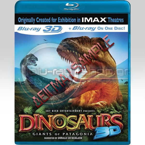 DINOSAURS: GIANTS OF PATAGONIA 3D - ΔΕΙΝΟΣΑΥΡΟΙ: ΟΙ ΓΙΓΑΝΤΕΣ ΤΗΣ ΠΑΤΑΓΟΝΙΑΣ 3D (BLU-RAY 3D/2D)