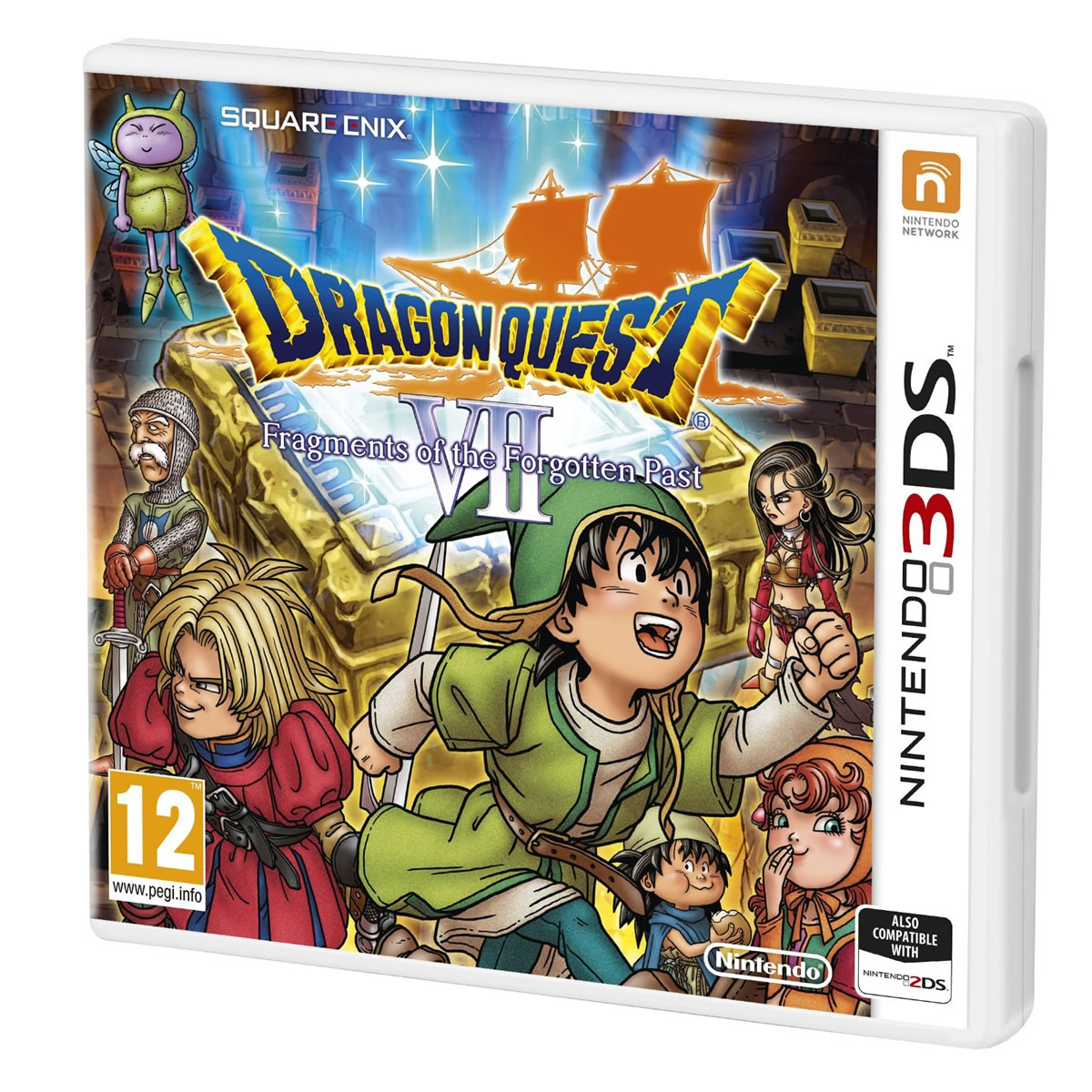 DRAGON QUEST VII: FRAGMENTS OF THE FORGOTTEN PAST (3DS, 2DS)