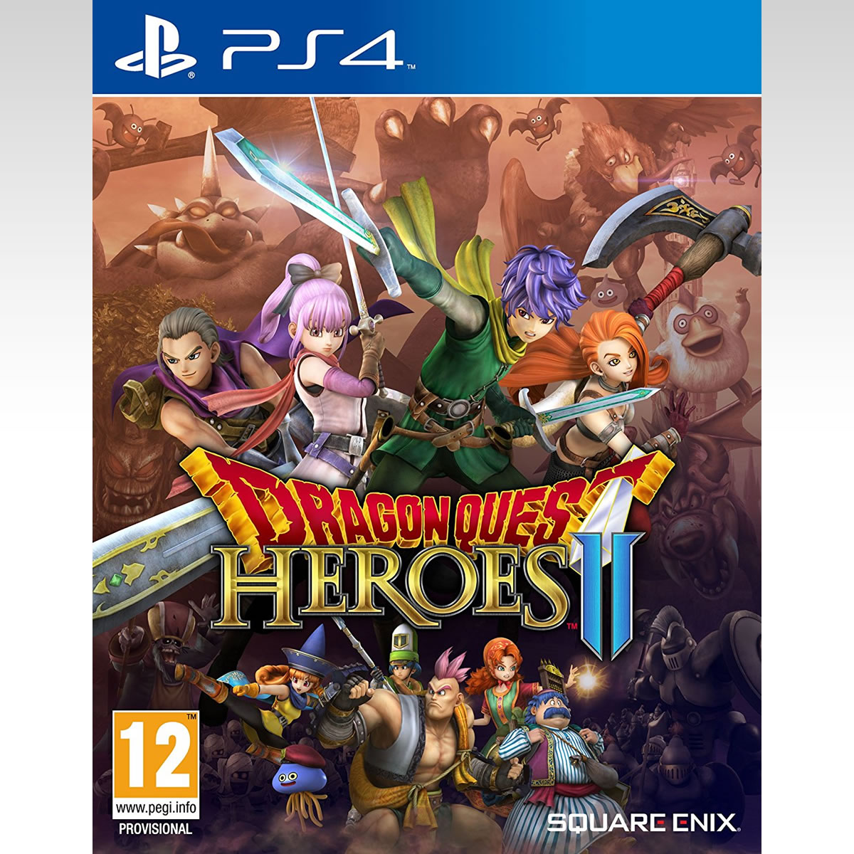 DRAGON QUEST: HEROES 2 (PS4)