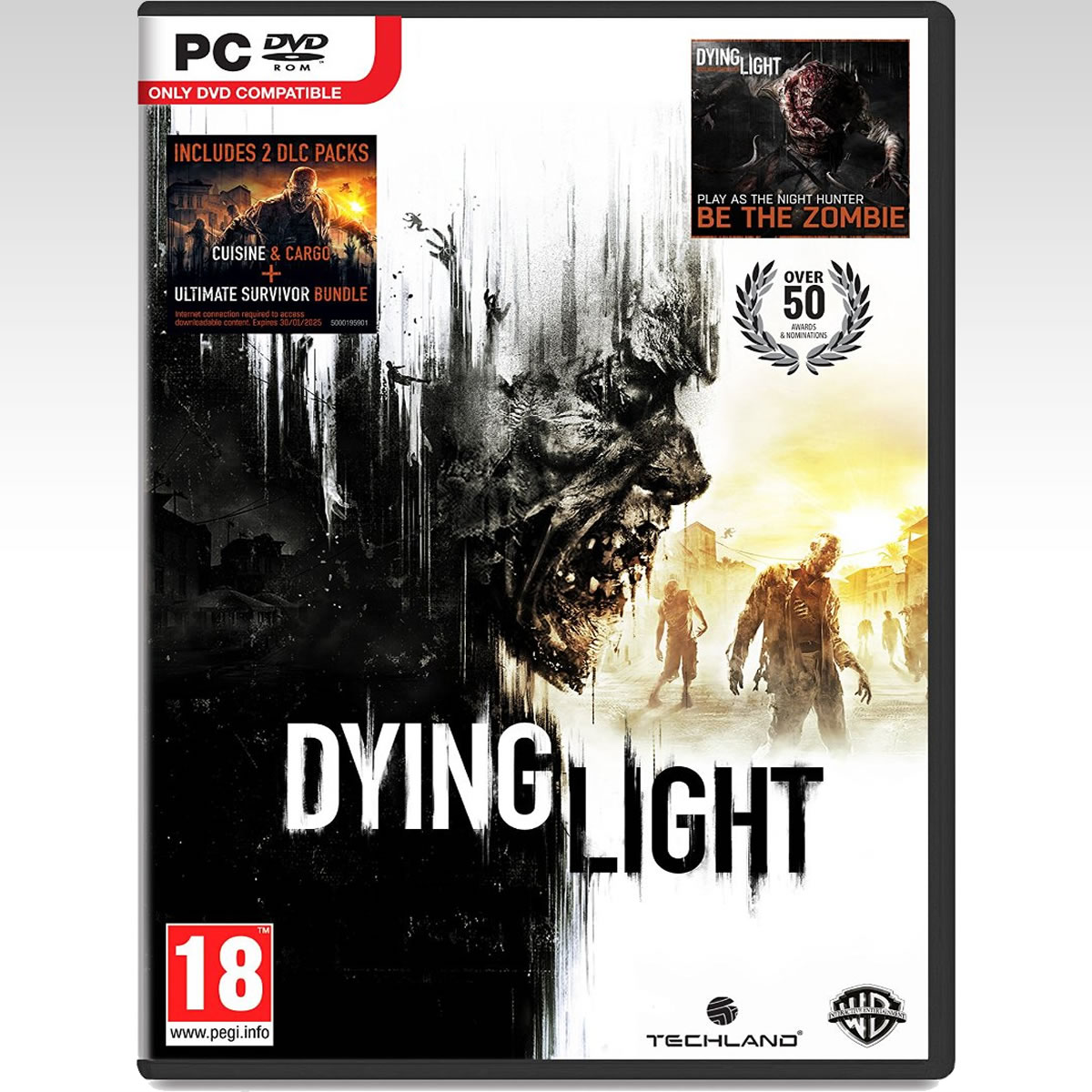 "DYING LIGHT + PreORDER BONUS ""BE THE ZOMBIE"" (PC)"