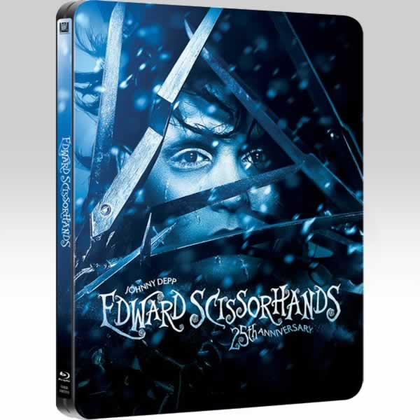 EDWARD SCISSORHANDS Remastered - Ο ΨΑΛΙΔΟΧΕΡΗΣ Remastered 25th ANNIVERSARY Limited Edition Steelbook [ΕΛΛΗΝΙΚΟ] (BLU-RAY)
