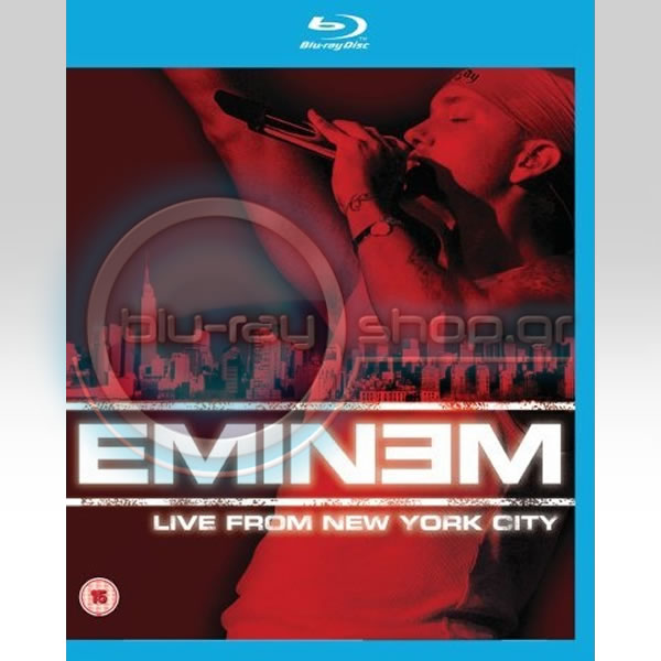 EMINEM: LIVE FROM NEW YORK CITY (BLU-RAY)