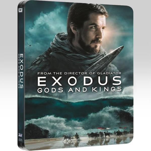 EXODUS: GODS AND KINGS 3D - Η ΕΞΟΔΟΣ: ΘΕΟΙ ΚΑΙ ΒΑΣΙΛΙΑΔΕΣ 3D Limited Collector's Edition Steelbook (BLU-RAY 3D + 2 BLU-RAY)