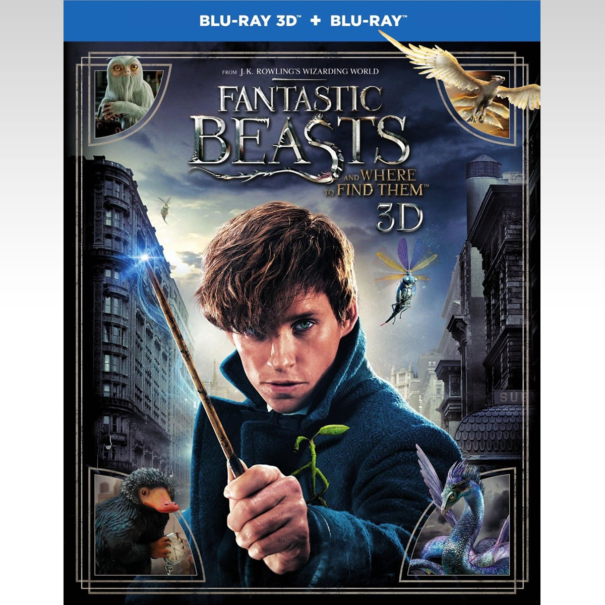 FANTASTIC BEASTS AND WHERE TO FIND THEM - ΦΑΝΤΑΣΤΙΚΑ ΖΩΑ ΚΑΙ ΠΟΥ ΒΡΙΣΚΟΝΤΑΙ (BLU-RAY 3D/2D)