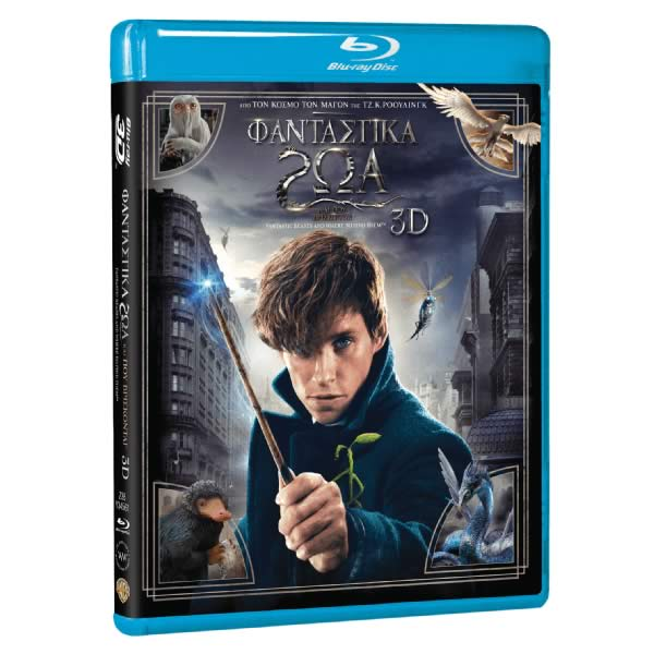 FANTASTIC BEASTS AND WHERE TO FIND THEM 3D (BLU-RAY 3D + BLU-RAY)