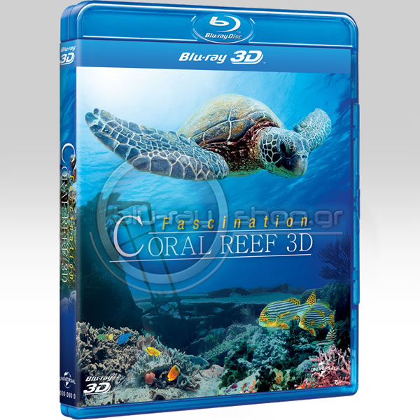 FASCINATION CORAL REEF 3D (BLU-RAY 3D/2D)