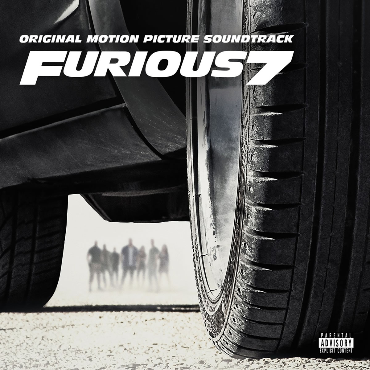 FAST & FURIOUS 7 - THE ORIGINAL MOTION PICTURE SOUNDTRACK (AUDIO CD)