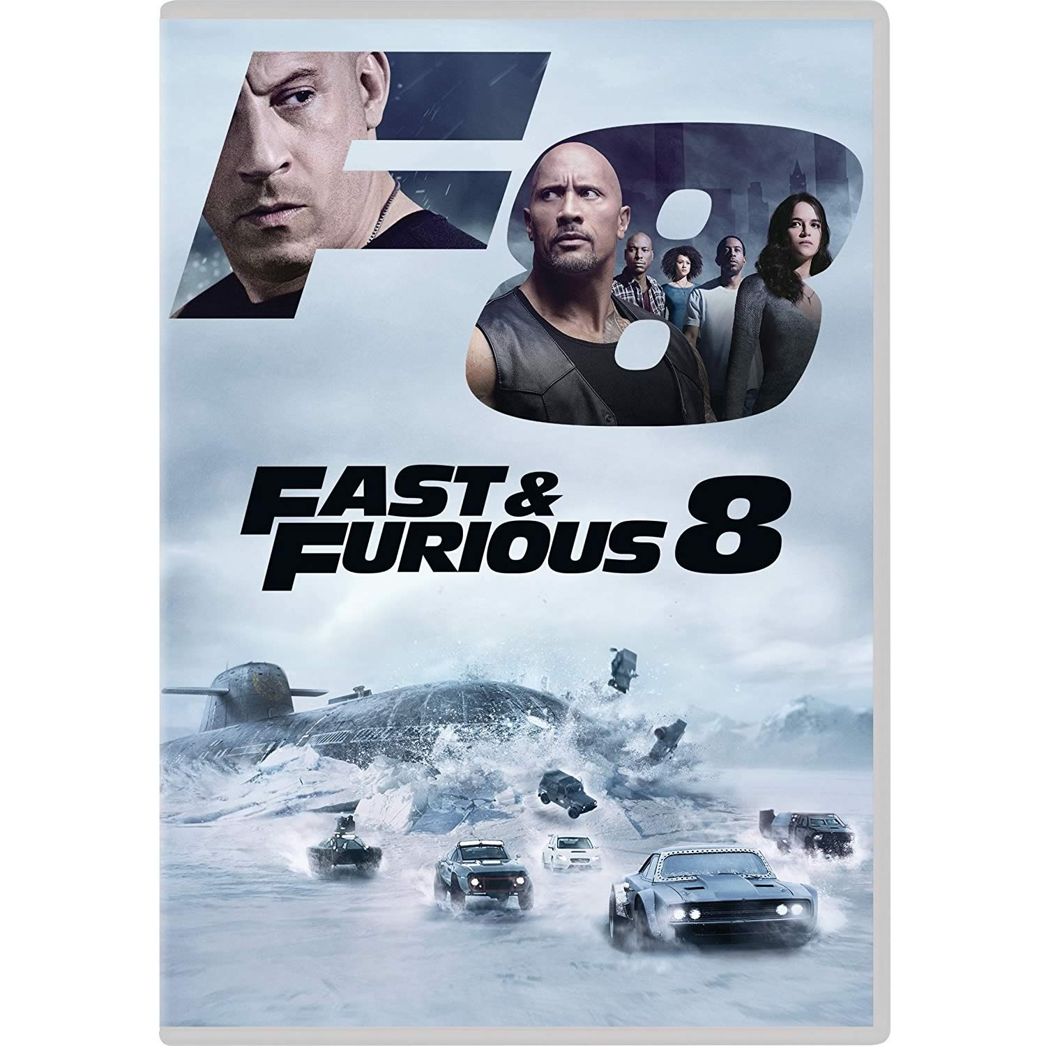 FAST & FURIOUS 8: THE FATE OF THE FURIOUS - FAST & FURIOUS: ΜΑΧΗΤΕΣ ΤΩΝ ΔΡΟΜΩΝ 8 (DVD)