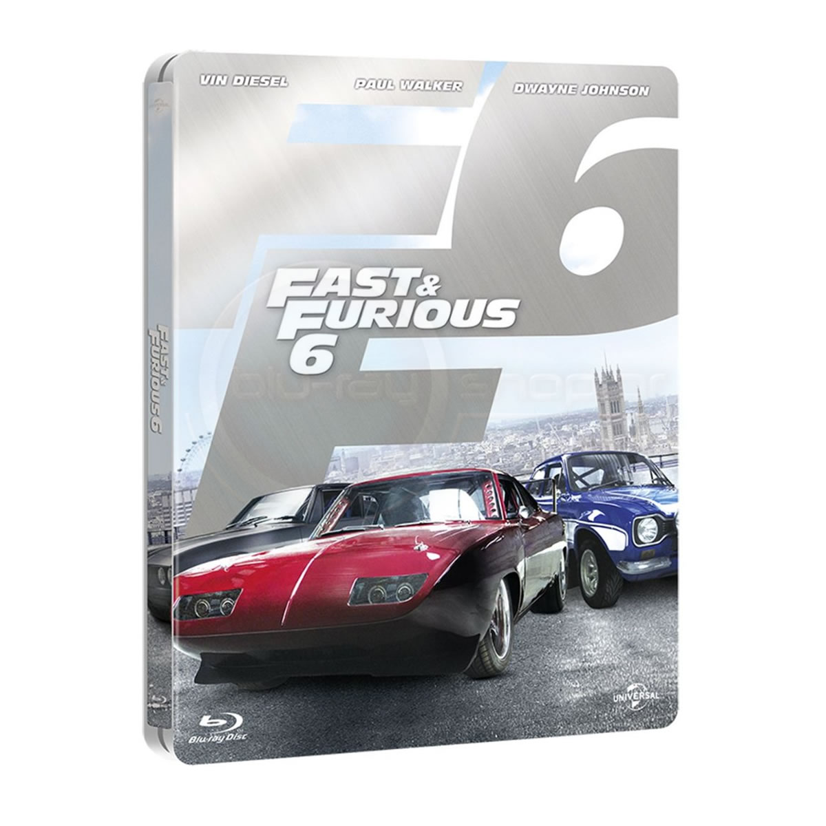 FAST & FURIOUS 6 Extended - ������� ��� ������ 6 Extended Limited Collector's Edition Steelbook ������������ [��������� �� ���������� ����������] (BLU-RAY)