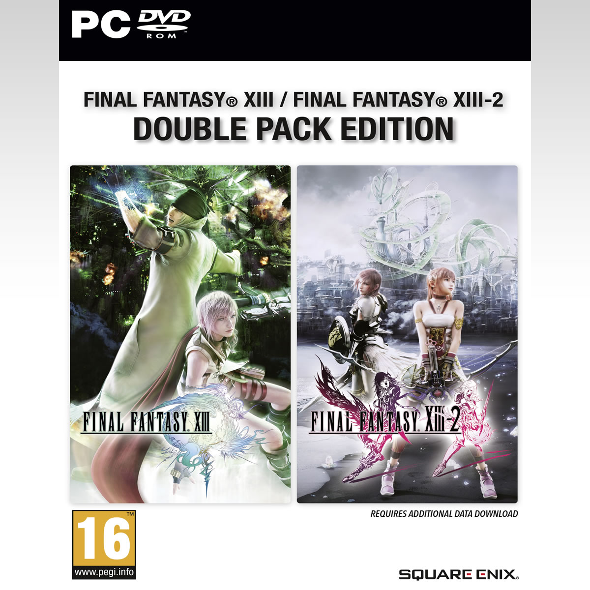 FINAL FANTASY XIII / FINAL FANTASY XIII-2 DOUBLE PACK EDITION (PC)