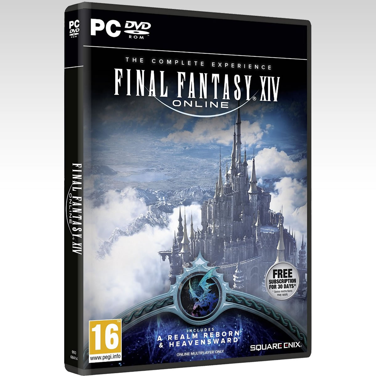 FINAL FANTASY XIV ONLINE: A REALM REBORN & HEAVENSWARD - THE COMPLETE EXPERIENCE (PC)