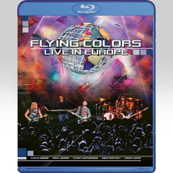 FLYING COLORS: LIVE IN EUROPE (BLU-RAY)