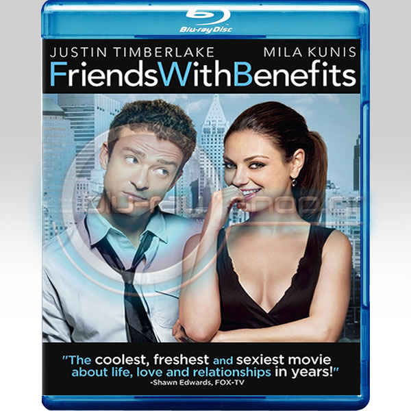 FRIENDS WITH BENEFITS - ΟΧΙ ΜΟΝΟ ΦΙΛΟΙ (BLU-RAY)